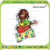 Ricordo promozionale personalizzato Giamaica (RC- JM) dei magneti del frigorifero del PVC della decorazione dei regali