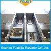 良質ガラスの機械部屋のない観光のパノラマ式の観察のエレベーター