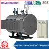 Caldeira elétrica horizontal de água quente e de vapor da alta qualidade