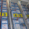 Système de stockage automatique pour la cueillette de Miniload des cadres