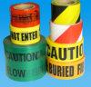 Tapefor 주의를 경고하는 위험 사용 위험 경고 테이프를 막는 도로