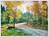 Peinture à l'huile, peinture à l'huile d'horizontal, fournisseur de peinture à l'huile (UN-LAND9393)