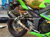 Труба/пробка волокна Carbob вытыхания мотоцикла