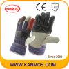 De Handschoenen van het Werk van de Bedrijfsveiligheid van het Leer van het Meubilair van de regenboog (310011)