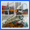 Тележка конкретного насоса машинного оборудования 6X4 39m 47m 50m строительной промышленности Jl-39/47/50m установленная тележкой