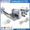 V Fold automática Faical Tissue Paper Folding Maquinaria en relieve