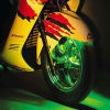 набор мотоцикла 7-Color СИД (C058512)