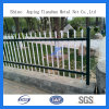 Zink Coated Beautiful Used Wroungh Square Tube Iron Fence für Garten (TS-L33)