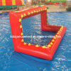 Inflatable divertente Football Gate Games per Water Games