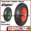 ISO9001: 외바퀴 손수레를 위한 2008 압축 공기를 넣은 고무 바퀴