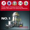 Wenzhou Factory Three Layer Co-Extrusion Rotary Die-Head Blown Film Machine