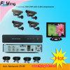 4CH sistema impermeável das câmeras do IR da segurança ao ar livre do CCTV DVR (FA04M12-101S)