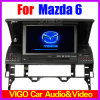 navegación Bluetooth del GPS del reproductor de DVD del coche de 7 '' HD para el sedán/el carro (VMZ7026) de Mazda 6/deporte