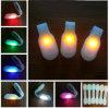 Lumière courante de sûreté de clip de tissu des silicones DEL d'aimant