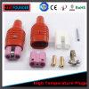 Промышленная высокотемпературная штепсельная вилка 250V силиконовой резины