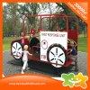 Equipo del coche del juguete del paseo del Kiddie del estilo del coche de bomberos para los cabritos