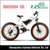 Bici di montagna grassa elettrica verde della gomma di potere 750W 48V