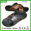 Uomini Leather Slippers, Chappals arabo Slip su Shoes (RW21269)