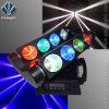 8*10W RGBW LEDのくものビーム移動ヘッドライト