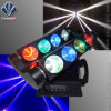 8*10W RGBW LED 거미 광속 이동하는 맨 위 빛