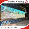 Exhibición de LED al aire libre clara estupenda de los productos P6 de la comercialización