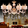 Klassisches Home Crystal Chandelier, Newly Style Chandelier mit Rose Shade