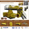 最上質Jy75diiの粘土の煉瓦機械