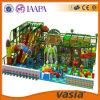 Campo de jogos 2015 macio interno do parque do divertimento das crianças do tema da selva de Vasia