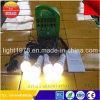 Sistema Solar portable 4.5ah con el bulbo del LED
