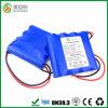 Блок батарей 1s4p иона 18650 большой емкости 10400mAh Li