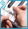 Прозрачный пластичный съемный стикер примечания диаграммы рояля и клавиатуры