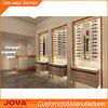 Armadietto di esposizione ottico della mobilia del negozio, pavimento che si leva in piedi disegno di legno del chiosco del monocolo della visualizzazione del telaio dell'ottica, interiore di Eyewear