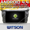 Carro DVD do sistema do Android 4.4 de Witson para o mapa video da freqüência 1.6GHz DVR 3D de Toyota RAV4 2014 (W2-A7017) 1080P HD