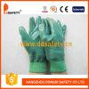De groene Handschoenen Dcn424 van de Katoenen Veiligheid van het Nitril