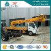 Camion di sollevamento d'profilatura del braccio dell'alto dello spazio della Cina camion di funzionamento