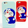 3D Cute Doraemon Soft Silicone Fall für iPhone