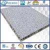 Mármol panel de nido de abeja de aluminio de grano