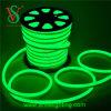 Luzes de néon da corda do cabo flexível do diodo emissor de luz da cor verde