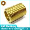 CNC por encargo del OEM de la precisión que trabaja a máquina el buje roscado