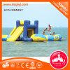 Kundenspezifische aufblasbares Dinosaurier-federnd Schloss-aufblasbare Wasser-Park-Spiele