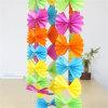 Guirnalda colorida de Papier del tejido de la decoración de la boda