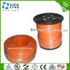 Fio redondo de cobre desencapado do cabo distribuidor de corrente de soldadura elétrica da alta qualidade