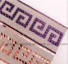 Aparamento do engranzamento do Rhinestone da transferência térmica para os acessórios do saco da sapata do vestuário (TM-321)