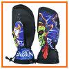 Guante de encargo del esquí/guantes de cuero de la snowboard del invierno