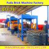 Производственная линия машина кирпича Fuda блока Qt4-20 гидровлическая польностью автоматическая