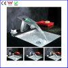 China hidráulica de 3 cores de punho de torneira de latão de bacia LED (FD15102F)
