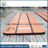 Kundenspezifische Farben-aufblasbare Luft-Matte, Tumble-Spur auf Verkauf