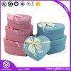 De Verpakking van het Suikergoed van het Huwelijk van het Vakje van het Document van de Gift van de Vorm van het hart