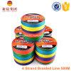 de Veelkleurige 4 Bundels Gevlechte Lijn van 500m