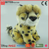 Leopardo suave relleno juguete realista del guepardo de la felpa En71
